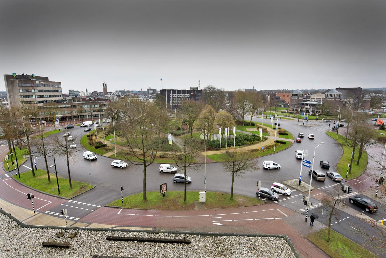 Het Keizer Karelplein in Nijmegen.