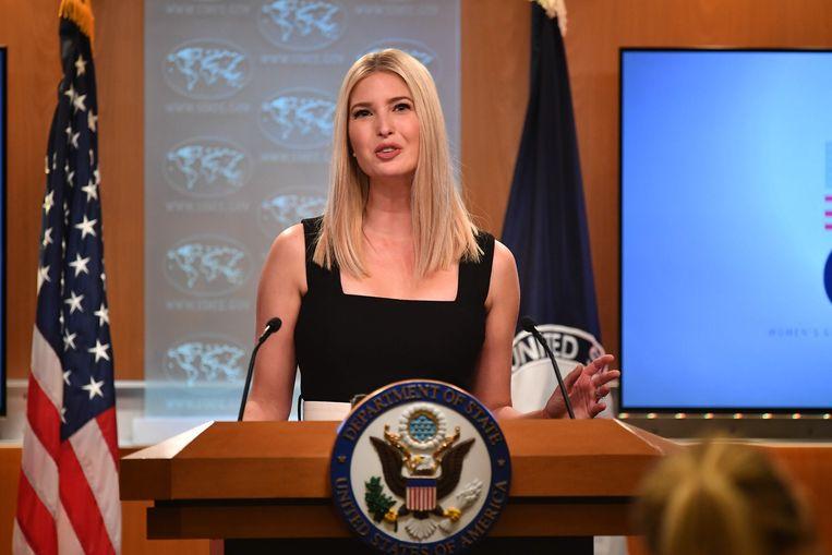Ivanka trump, dochter en adviseur van Amerikaans president Donald Trump. Beeld m