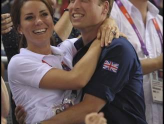 Prins William is bang van de 'kiss cam'