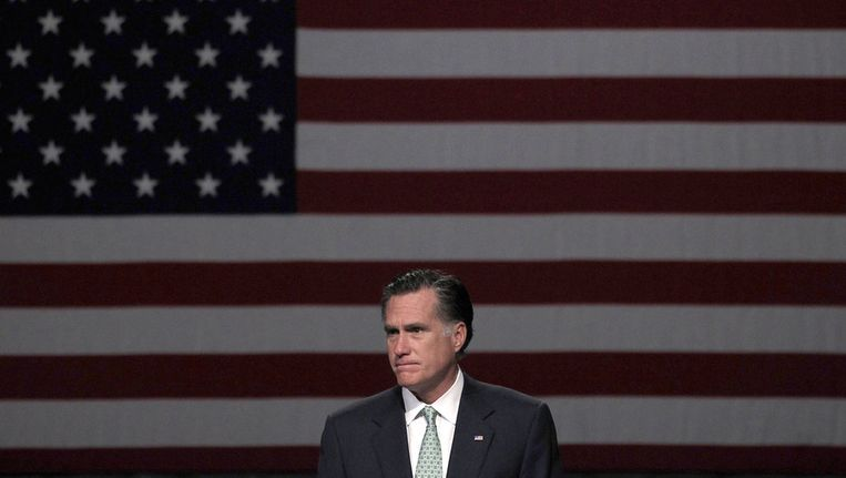 Mitt Romney Beeld ap