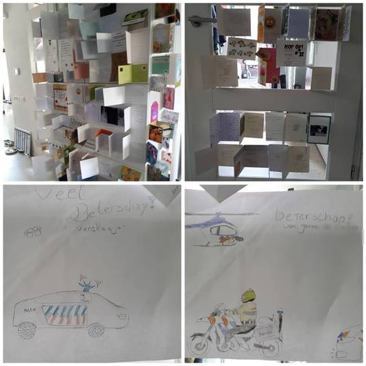 Van der Steen overstelpt met kaartjes en brieven