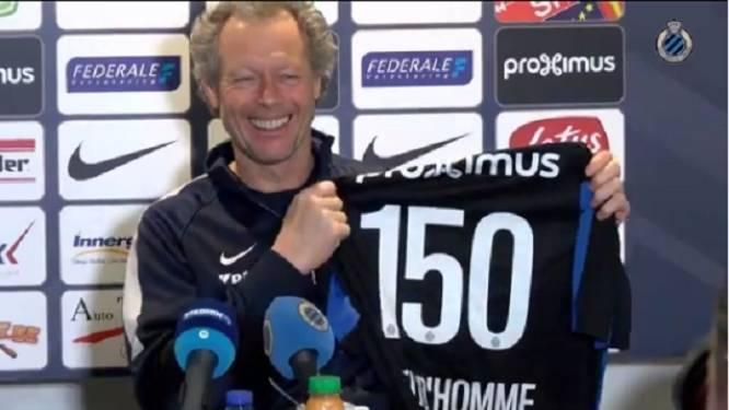 """Preud'homme: """"Je hebt de wedstrijden dat ik op de tribune zat toch ook geteld?"""""""