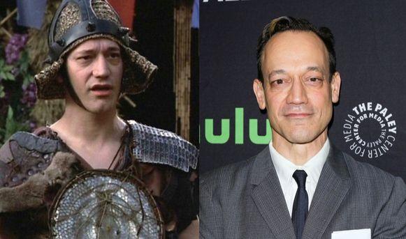 Acteur Ted Raimi is in de loop der jaren flink veranderd.