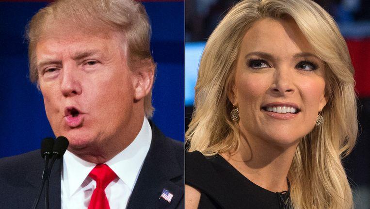 Donald Trump en Megyn Kelly Beeld AP