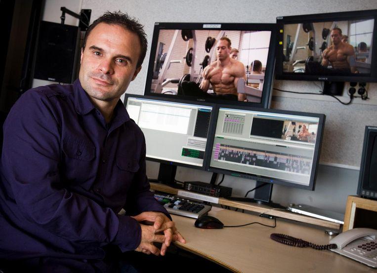 NOS-sportverslaggever Vlado Veljanoski maakte een documentaire over de comeback van Yuri van Gelder. Hij heeft hem acht maanden gevolgd. Beeld anp