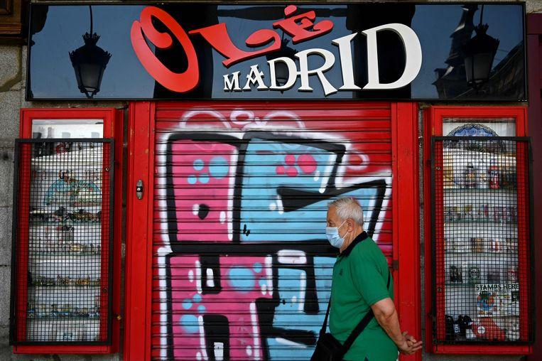 Illustratiebeeld, Madrid. Beeld AFP