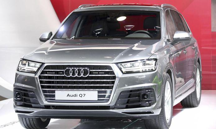 Audi Q7 pour Simon Mignolet.