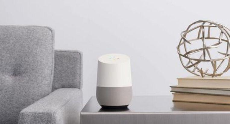 Google Home, een van de eerste AI-producten die op de markt kwamen. Beeld Walmart