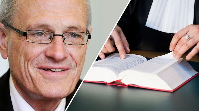 Gerard Sanderink blijft grote moeite houden met het gehoor geven aan vonnissen van rechters.