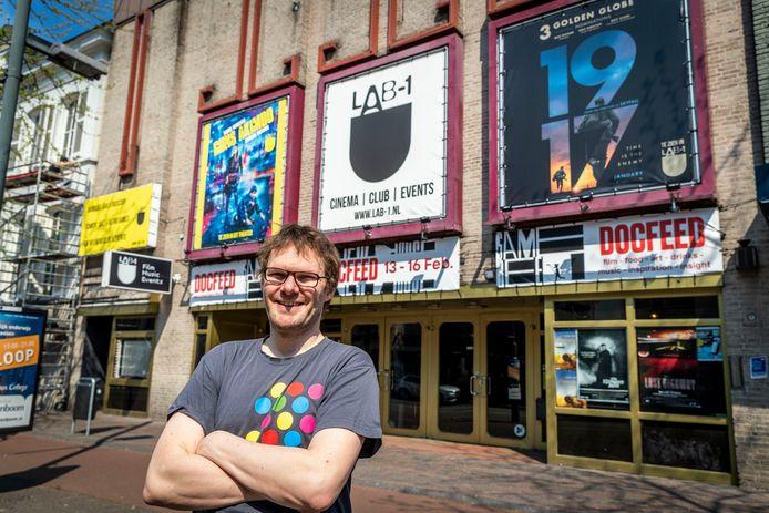 Archieffoto van Chris de Zeeuw  voor bioscoop LAB-1 in Eindhoven.