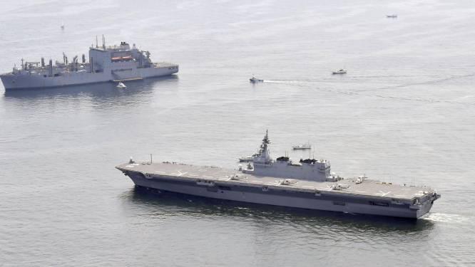 Spanning rond Noord-Korea: Japanse zeemacht escorteert Amerikaans bevoorradingsschip