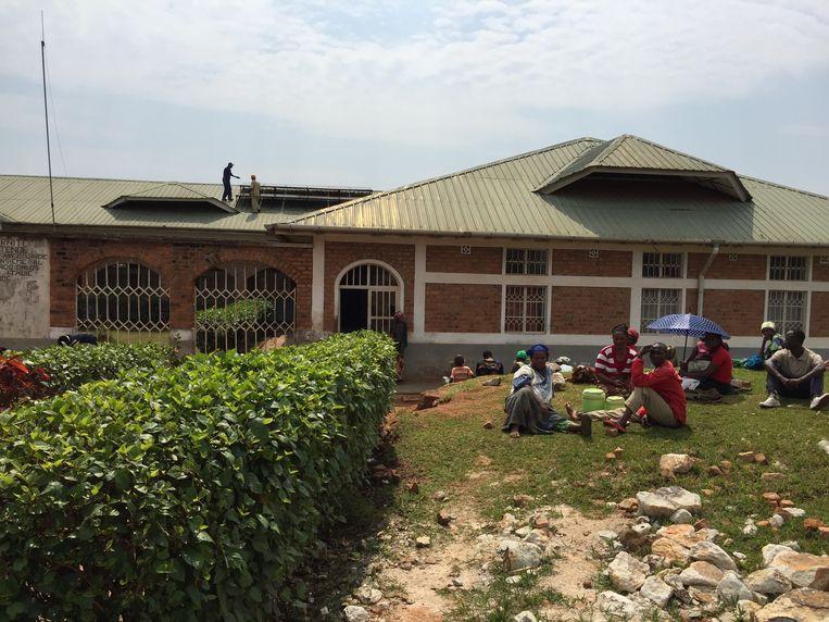 Het zonnepanelenproject in het ziekenhuis van Nyantende in Bukavu.
