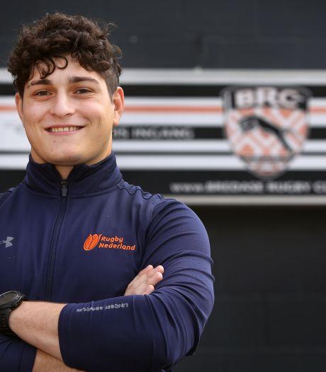 Bredase Gavin (18) schitterde met Nederlandse selectie op EK Rugby: 'We zijn echt een familie geworden'