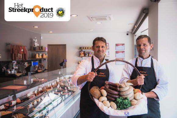 Jos en Marc Molenaers zijn trots op hun streekproducten.