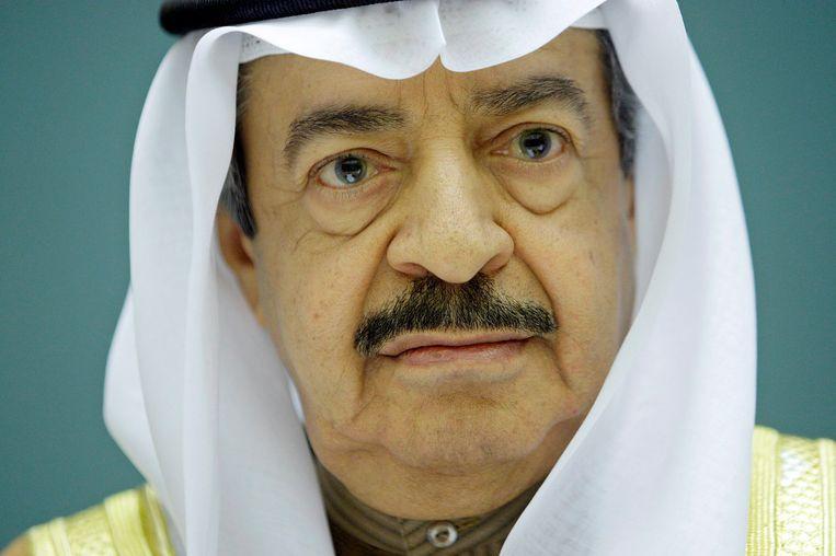 Prins Khalifa bin Salman Al Khalifa in 2007. Beeld EPA