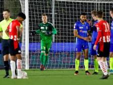 Persoonlijke overwinning voor reservekeeper tijdens gelijkspel TOP Oss: 'Hier heb ik heel lang op gewacht'