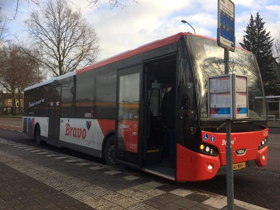 Hermes rijdt, onder meer op de lijn Gemert - Boxmeer, onder de naam Bravo.