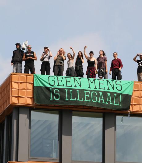 Opgepakte demonstrant van 'No Border' moet voor de rechter verschijnen