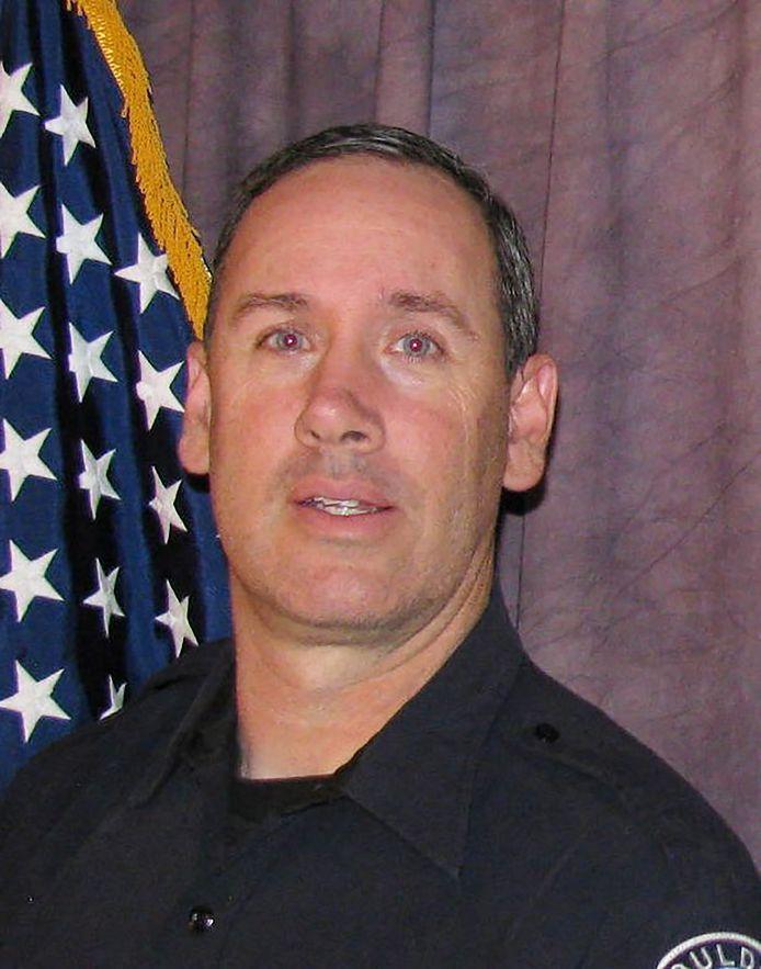 Le policier tué durant la fusillade.