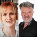 Autodelers Anneke Hulshof (particulier) en Jack van de Schoor (Greenwheels) zijn enthousiast over het gezamenlijk autogebruik.