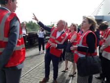 Minister en staatssecretaris horen alles over de Tilburgse containerterminals