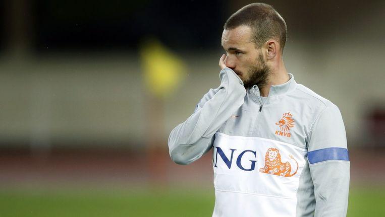 Wesley Sneijder. Beeld anp