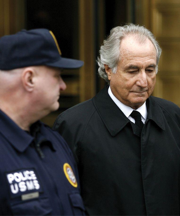 'UBS had veel geld gestopt in het fonds van superfraudeur Bernie Madoff. Toen in 2008 de kredietcrisis losbarstte, begon de façade af te brokkelen' Beeld