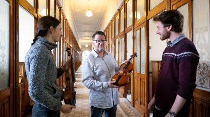 Sint-Ursula-Instituut breidt muziekaanbod uit met gerestaureerde violen