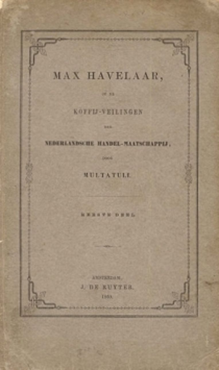 'Max Havelaar'. Beeld rv