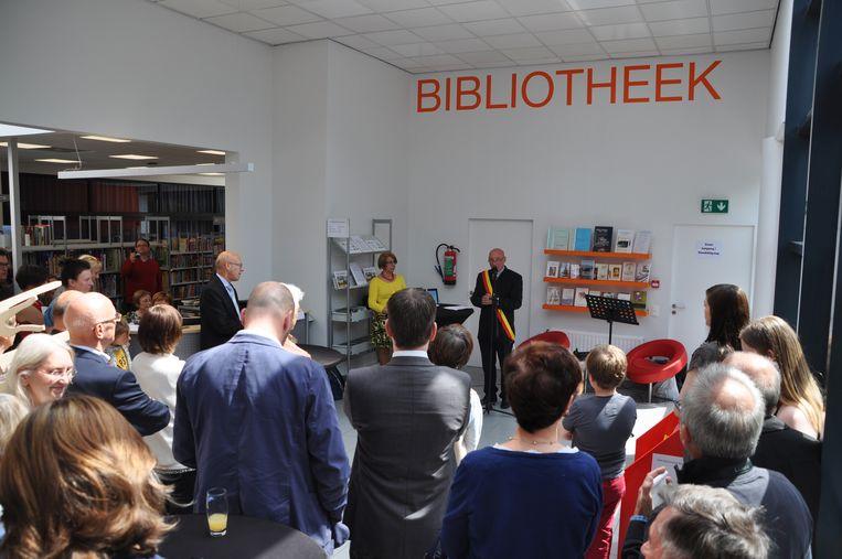 Illustratiebeeld bibliotheek De Roosenberg waar de lezers van de bib van Haasrode een weekje terecht kunnen.