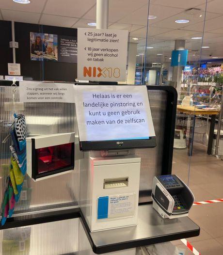 Landelijke pinstoring bij Albert Heijn: 'Neem contant geld mee'