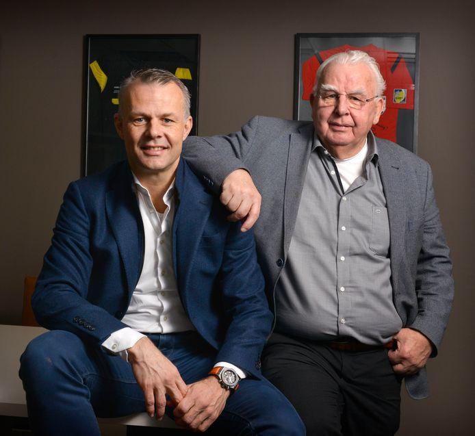 Zoon en vader Kuipers.