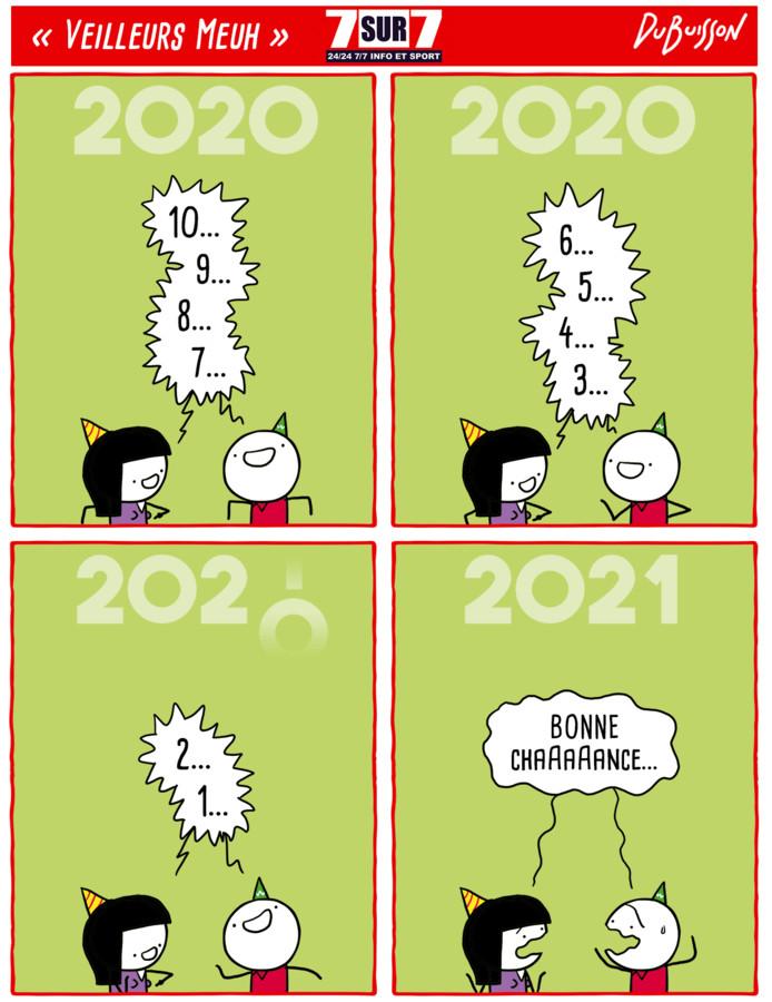 """Veilleurs Meuh"", vendredi 1er janvier 2021"
