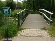 Bewoners in verzet tegen sloop brug in Broekvelderpark