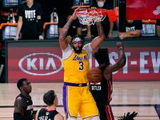 Overtuigende start Lakers in NBA-finale