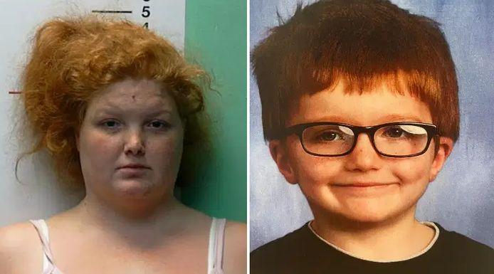 Brittany Gosney a avoué avoir tué James Hutchinson, son petit garçon de six ans.