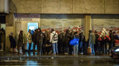 Extra opvangplaatsen voor daklozen in Brussel tijdens vriesweer