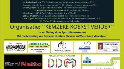 'Kemzeke Koerst Verder' verwelkomt Belgisch kampioen