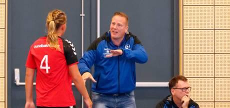 Handballers van Tachos uit Waalwijk raken trainer Fred Michielsen kwijt
