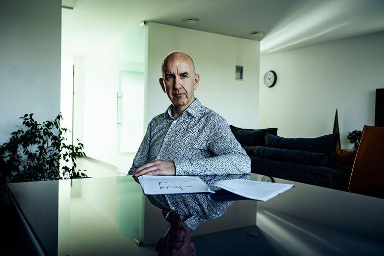 Biostatisticus Geert Molenberghs: 'Die 1 miljoen bevestigde gevallen zijn een zeer grote onderschatting.' Beeld Eric de Mildt