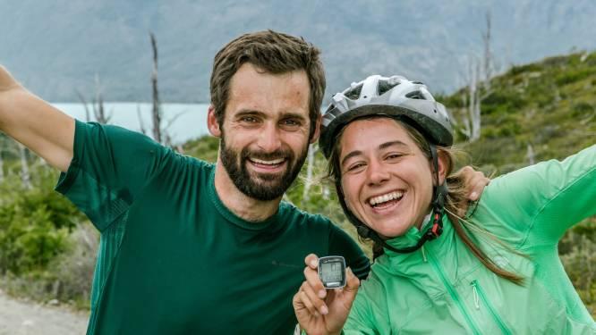 Zonder auto of vliegtuig, maar mét fietsen van Marktplaats, gingen Olivier en Zoë op wereldreis