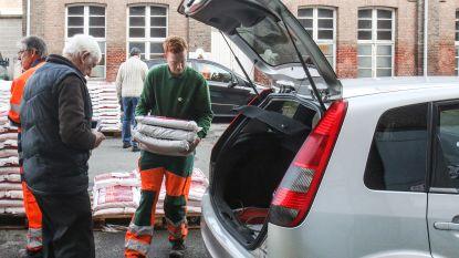 6.000 zakken strooizout op stock, al 3.500 uitgedeeld