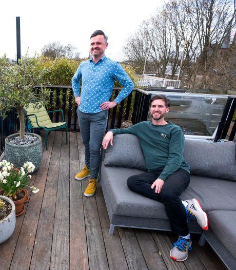 Het huis van Dennis en Marc heeft een uitzicht over de Utrechtse 'skyline', maar kost wel wat...
