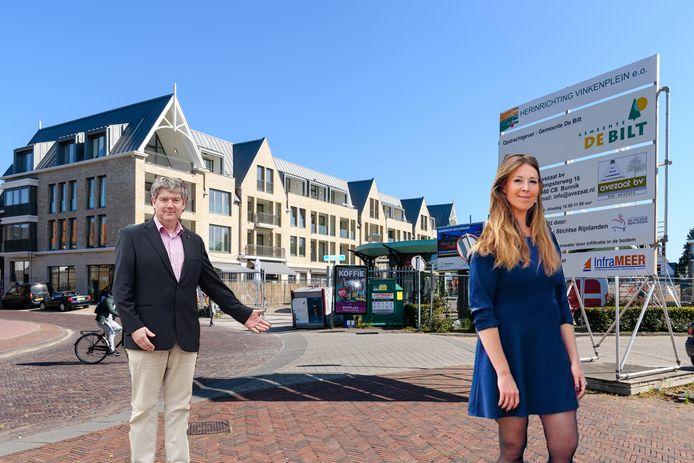 VVD-raadslid Christiaan van Nispen en GroenLinks-raadslid Anne Marie 't Hart hebben het op social media regelmatig aan de stok