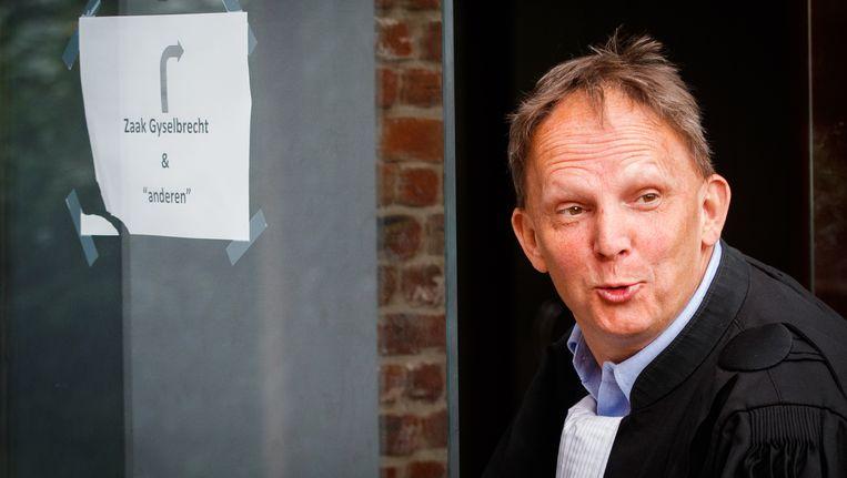 Johan Platteau, advocaat van André Gyselbrecht. Beeld BELGA