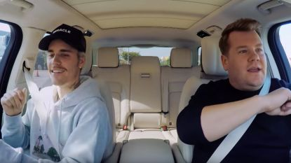 Justin Bieber geeft James Corden lesje TikTok en covert 'Smelly Cat' uit 'Friends'
