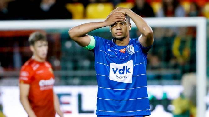 KV Oostende vloert AA Gent en komt mee aan leiding, Buffalo's blijven achter met 1 op 9