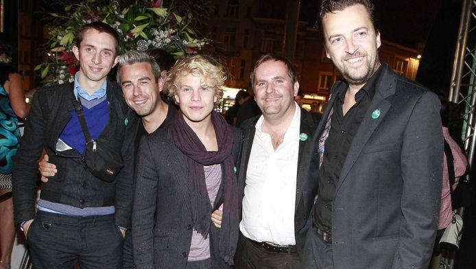 De cast van de film 'Hasta La Vista'.