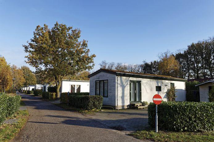 De mishandeling vond plaats in een chalet op het Schijndelse resort de Molenheide (niet bovenstaand chalet).