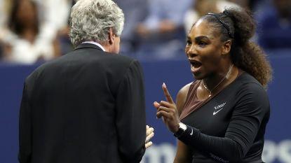 """WTA steunt Serena Williams na rel met scheidsrechter: """"Mannen en vrouwen moeten gelijk behandeld worden"""""""
